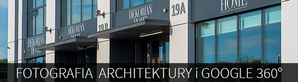 Fotografia architektury i spacery Google 360°